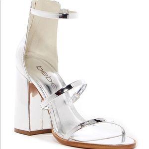 Bebe Leonaa Chunky Heel Sandals